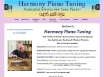 View More Information on Harmony Piano Tuning