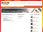 View More Information on Civic Video, Tennant Creek