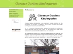 View More Information on Clarence Gardens Kindergarten
