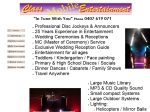 View More Information on Class Mobile Entertainment