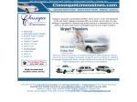 View More Information on Classique Limousines