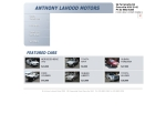 View More Information on Anthony Lahood Motors