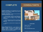 View More Information on Complete Consultants Pty Ltd