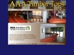 View More Information on Conquest Solid Timber Bench Tops