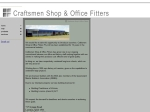 View More Information on Craftsmen Shop & Office Fitters Pty Ltd
