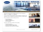 View More Information on Crown Project Services Pty Limited