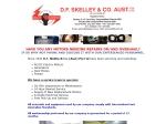 View More Information on D.F. Skelley & Co. Aust. Pty Ltd