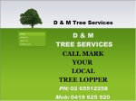 View More Information on D & M Tree Services