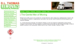 View More Information on D.L. Thomas Removals Pty Ltd