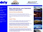 View More Information on Daly Laboratories Pty Ltd, Welshpool