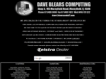 View More Information on Dave Blears Computing