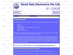 View More Information on David Daly Electronics Pty Ltd