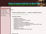 View More Information on David Leamey Solicitor And Barrister