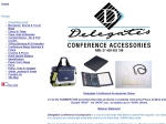 View More Information on Delegates Conference Accessories