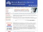 View More Information on Domain Name Register (Aust) Pty Ltd