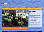 View More Information on Don Evans Plumbers