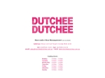 View More Information on Dutchee Dutchee
