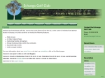 View More Information on Echunga Golf Club Inc