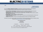 View More Information on Electric Systems Pty Ltd