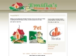 View More Information on Emilia's Home & Pet