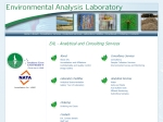 View More Information on Environmental Analysis Laboratory