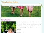 View More Information on Fairy Fantasy Parties