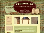 View More Information on Federation Paint Stripping & Restorations