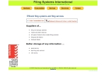 View More Information on Filing Systems International