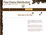 View More Information on Fine Choice Distribution