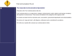 View More Information on First Communications Pty Ltd, Melbourne