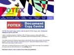 View More Information on Fotex Document Copy Centre