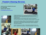 View More Information on Freedom Cleaning Services