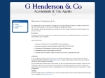 View More Information on G Henderson & Co