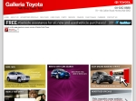View More Information on Galleria Toyota