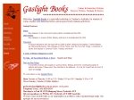 View More Information on Gaslight Books