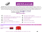 View More Information on Gem Rent-A-Car