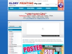 View More Information on Glory Printing Pty Ltd
