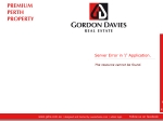 View More Information on Gordon Davies Real Estate