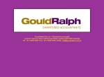 View More Information on Gould Ralph & Company, Sydney