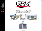 View More Information on GPM (Australia) Pty Limited, Leichhardt