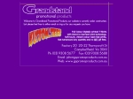 View More Information on Grandstand Promotional Products