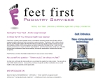 View More Information on Feet First Podiatry Services, Marrickville