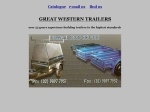 View More Information on Great Western Trailers, Granville