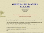 View More Information on Greenhalgh Tannery Pty Ltd