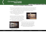 View More Information on Greentree Display Wall Hire