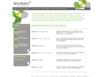 View More Information on Gresham Computing