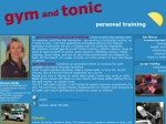 View More Information on Gym and Tonic