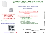 View More Information on Gymea Appliance Repairs