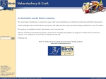 View More Information on Birch Haberdashery And Craft