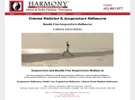 View More Information on Harmony Chinese Medical Centre
